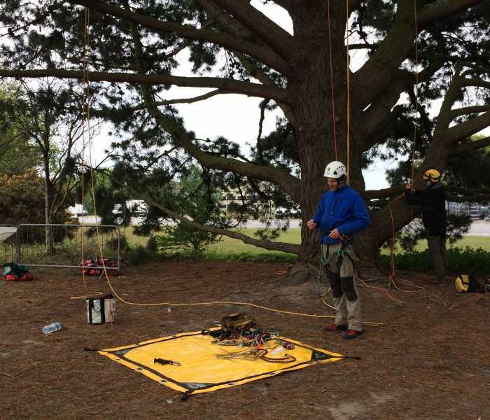Kevin Bingham SRT Basic Climbing Systems