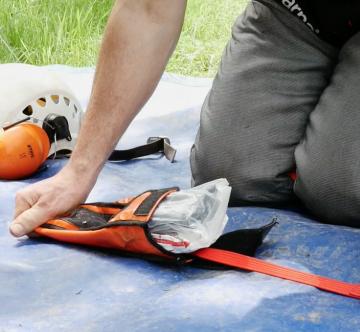 climbing first aid kit