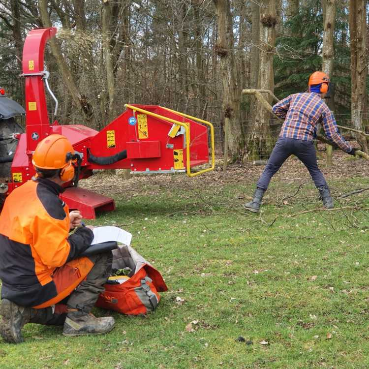 Lantra chipper Integrated training and assessment