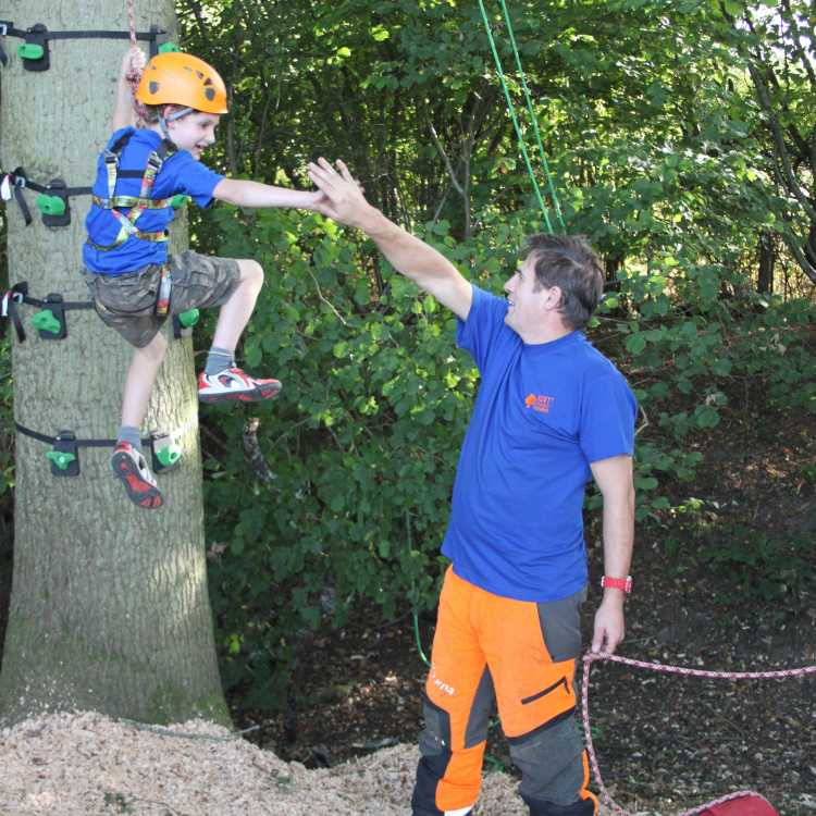 climbing for children