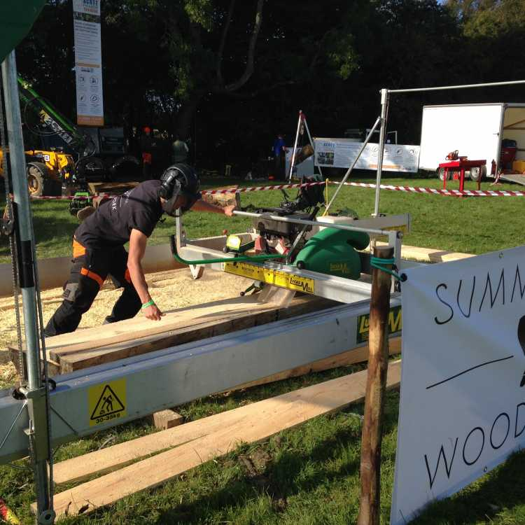Bentley Woodfair 2017 Summerhill-woodwork sawmilling