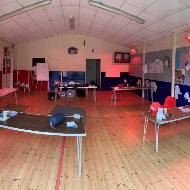 Training room set up 2