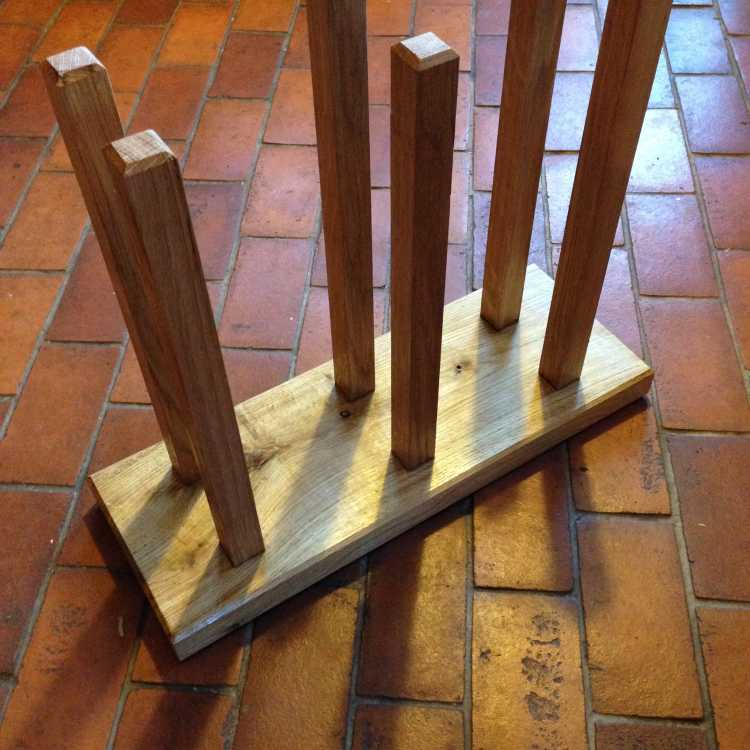 Welly rack - an ideal Christmas present!
