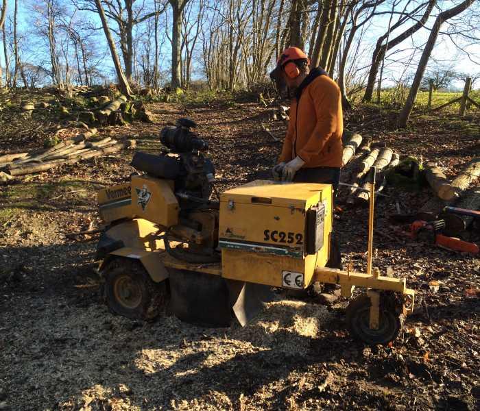 Vermeer 252 Stump Grinder