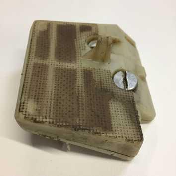 Stihl 260 2 part filter - beware the choke mechanism inside!