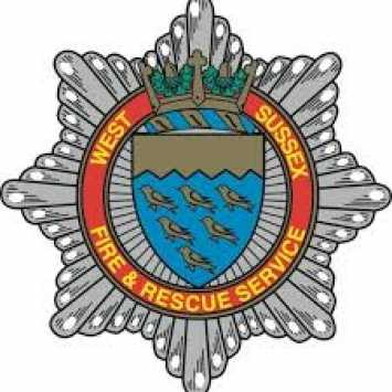 West Sussex Fire and Rescue service badge