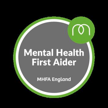 Anna is a Mental Health First Aider