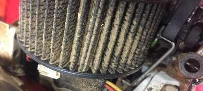 Stihl 261 Air Filter in need of a clean!