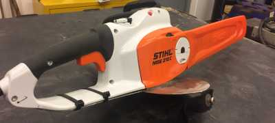 Stihl MS210CE 230V chainsaw with chip collection